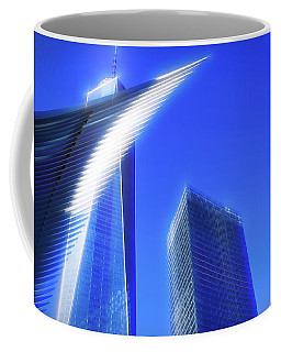 A Glimpse Of The Oculus - New York's Financial District Coffee Mug