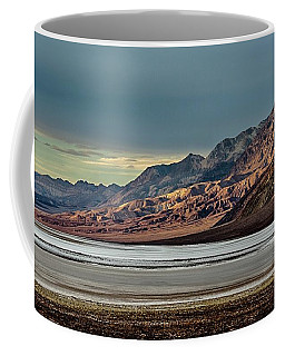 A Glow On The Amargosa Range Coffee Mug