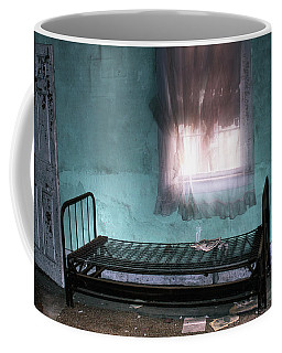 Coffee Mug featuring the photograph A Glow Where She Slept by Wayne King