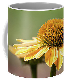 A Golden Echinacea -  Coffee Mug