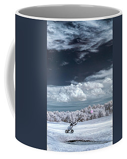 A Golf Course In Infrared Coffee Mug