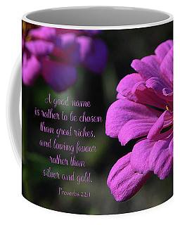 Coffee Mug featuring the photograph A Good Name by Larry Bishop
