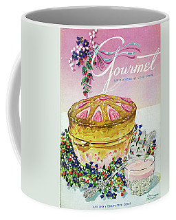 A Gourmet Cover Of A Souffle Coffee Mug