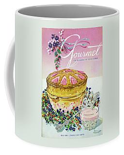 A Gourmet Cover Of A Souffle Coffee Mug