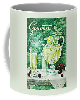 A Gourmet Cover Of Glassware Coffee Mug