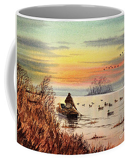 A Great Day For Duck Hunting Coffee Mug by Bill Holkham