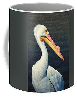 A Great White American Pelican Coffee Mug