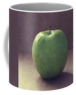 A Green Apple- Art By Linda Woods Coffee Mug