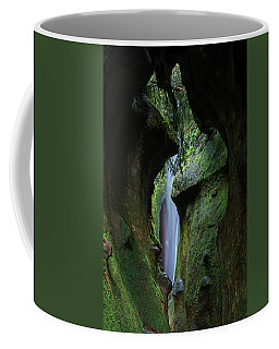 A Green Grotto Coffee Mug