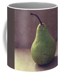 A Green Pear- Art By Linda Woods Coffee Mug