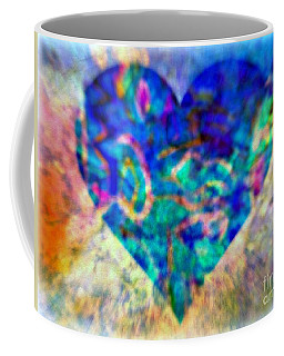 A Heart Of The Blues Coffee Mug