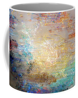 A Heart So Big - Custom Version 3 - Abstract Art Coffee Mug by Jaison Cianelli