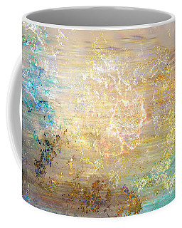 A Heart So Big - Custom Version 4 - Abstract Art Coffee Mug by Jaison Cianelli