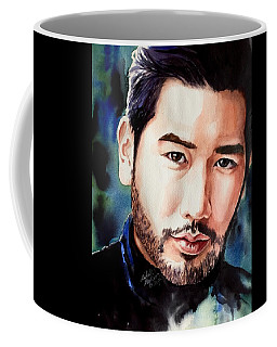 Coffee Mug featuring the painting A Hero's Heart by Michal Madison
