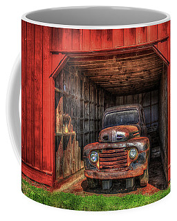 A Hiding Place 1949 Ford Pickup Truck Coffee Mug