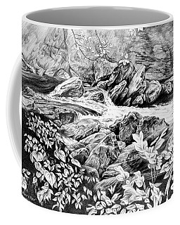 A Hiker's View - Landscape Print Coffee Mug