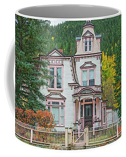 A Historical Treasure Constructed In 1870, Maxwell House, Georgetown, Colorado  Coffee Mug