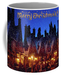 A Hogsmeade Christmas Coffee Mug