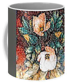 A Holiday Bouquet Coffee Mug by Jim Pavelle