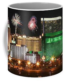 A Holiday Celebration In Las Vegas, Nevada, Usa Coffee Mug