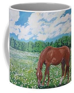 A Horse Named Dante Coffee Mug