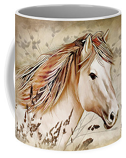 A Horse Of Course Coffee Mug by Nina Bradica