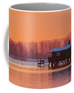 A Hut On The Water Coffee Mug
