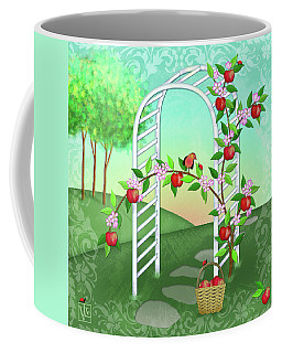 A Is For Arbor And Apples Coffee Mug