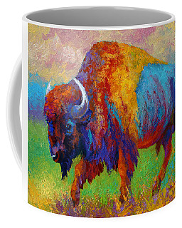A Journey Still Unknown - Bison Coffee Mug