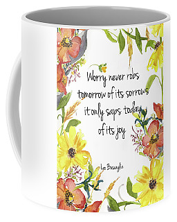Coffee Mug featuring the digital art A Joy Filled Fall  by Colleen Taylor
