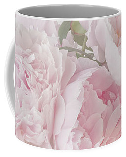 A Jug Of Soft Pink Peonies Coffee Mug