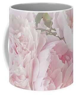 A Jug Of Soft Pink Peonies Coffee Mug