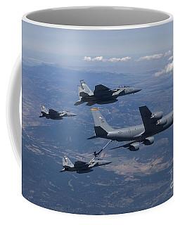 In-flight Refueling Coffee Mugs