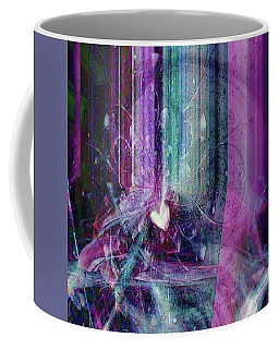 Coffee Mug featuring the digital art A Kind Heart by Linda Sannuti