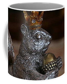 A King For A Day Coffee Mug by Yvonne Wright