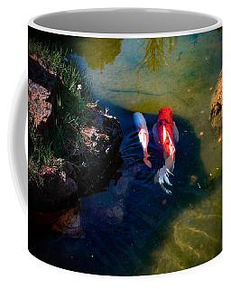 A Koi Romance Coffee Mug