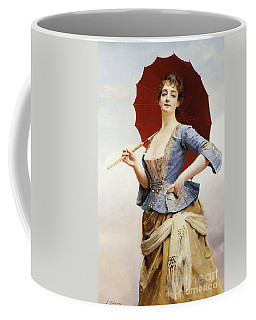 A Lady With A Parasol Coffee Mug