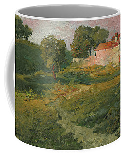 A Landscape In Vicinity Of Strijigorod Coffee Mug