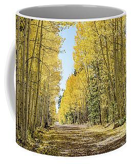 A Lane Of Gold Coffee Mug