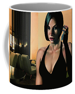 A Late Night Call Coffee Mug
