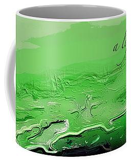 A Lifeless Planet Green Coffee Mug