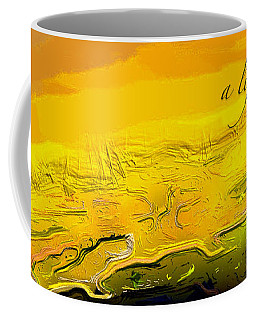 A Lifeless Planet Yellow Coffee Mug