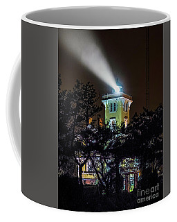 Coffee Mug featuring the photograph A Light In The Darkness by Nick Zelinsky