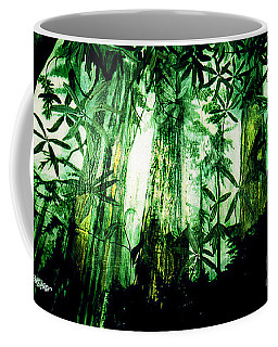 A Light In The Forest Coffee Mug by Seth Weaver