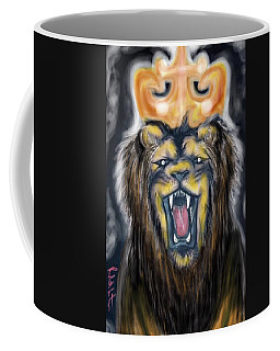A Lion's Royalty Coffee Mug