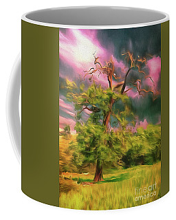 Coffee Mug featuring the photograph A Little Bit Worse For Wear by Leigh Kemp