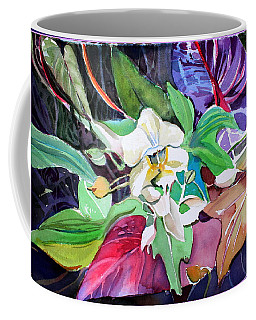 A Little Orchid Coffee Mug