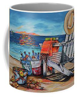Coffee Mug featuring the painting A Little Piece Of Texas Heaven by Patti Schermerhorn