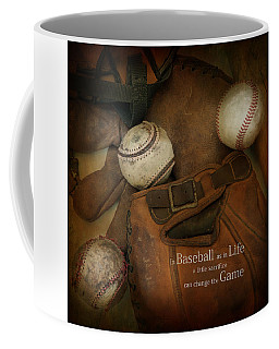 Coffee Mug featuring the photograph A Little Sacrifice by Robin-Lee Vieira