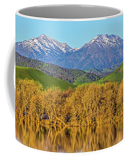 A Little Snow On Mt. Diablo Coffee Mug
